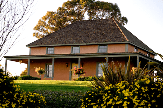 This is the Rincon Adobe at Talley Vineyards