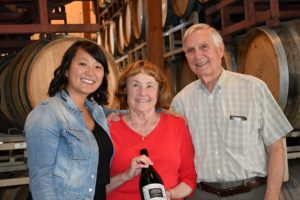 The Thompson family at Claiborne and Churchill winery