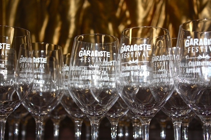 photo Garagiste Festival glasses